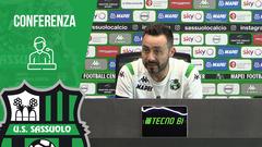 Mister De Zerbi prima di Sassuolo-Bologna
