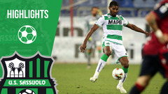 Cagliari-Sassuolo 1-1 Highlights