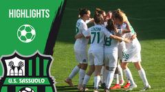 Serie A Femminile: gli highlights di Sassuolo-Tavagnacco 1-1