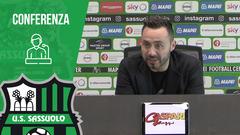 Mister De Zerbi prima di Sassuolo-Cagliari