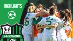 Gli highlights di Sassuolo- Pink Bari Femminile 3-0