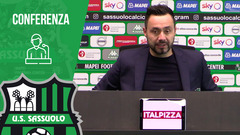 Mister De Zerbi prima di Juventus-Sassuolo