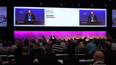 Features | The CWU at TUC 2015