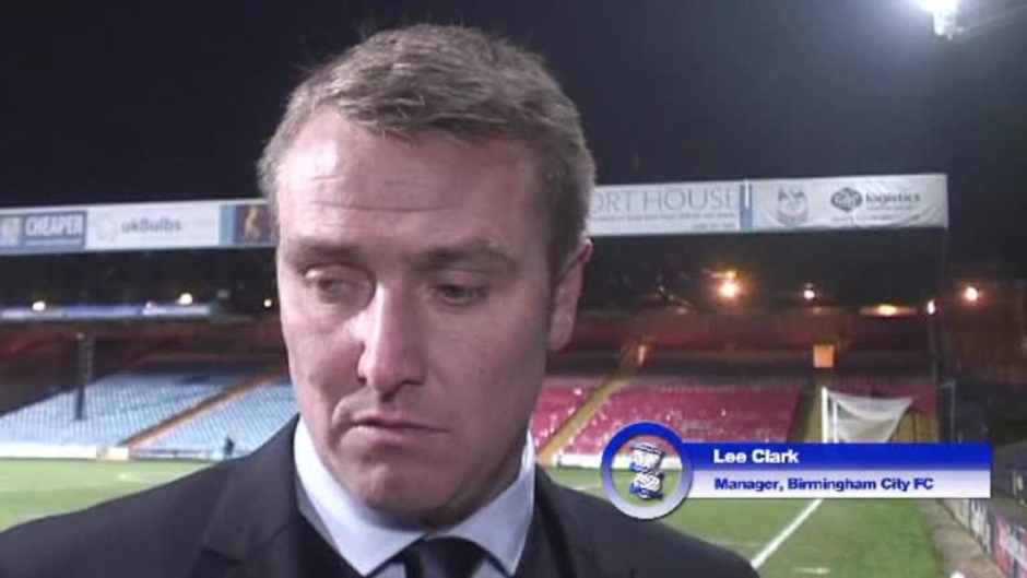 Click here to watch the Clark delighted with clinical Blues video