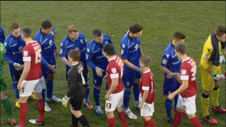 Click here to watch the Barnsley 1 Birmingham 2 video