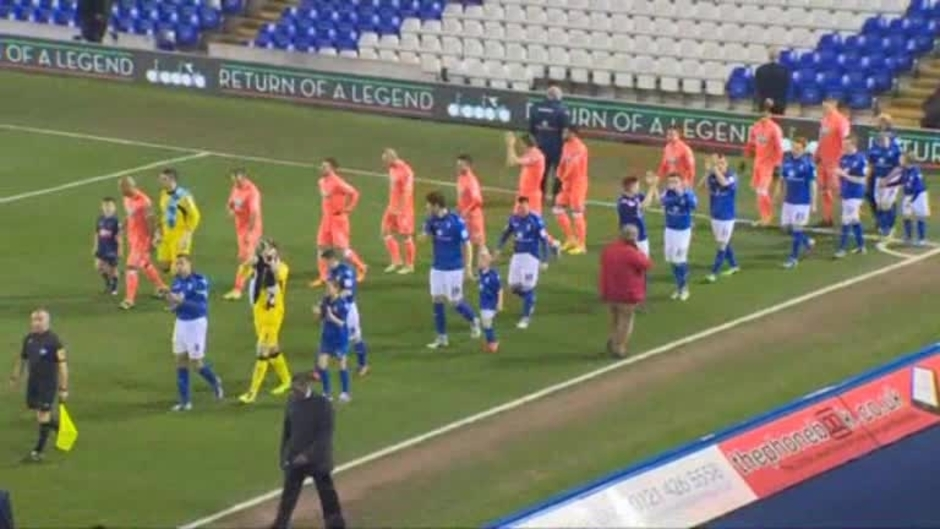 Click here to watch the The Match: Blues v Blackpool video