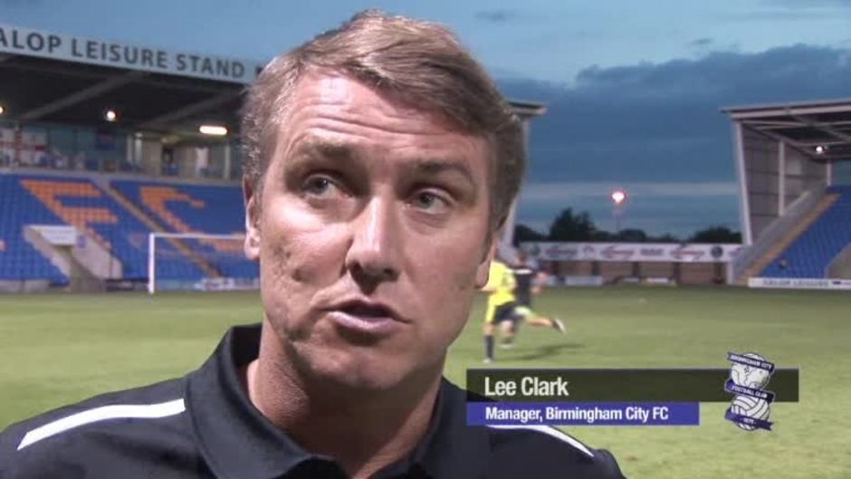 Click here to watch the Clark reflects on Shrewsbury friendly video