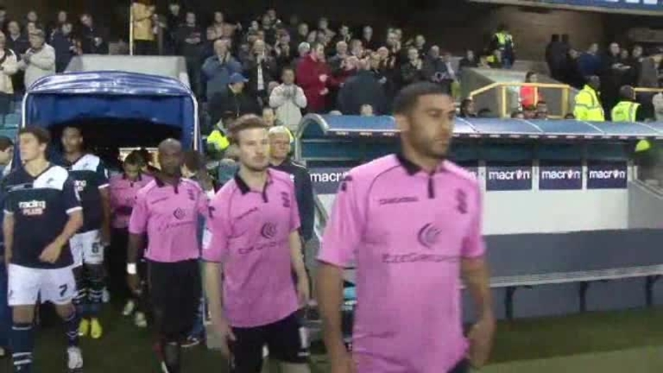 Click here to watch the The Match: Millwall v Blues video