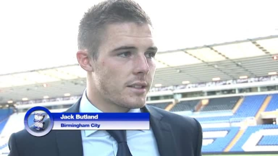 Click here to watch the Butland honoured by 'privilege' video