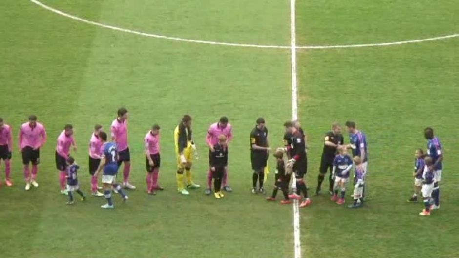 Click here to watch the The Match: Ipswich v Blues video
