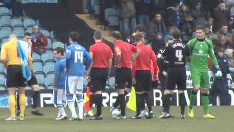 Click here to watch the The Match: Peterborough v Blues video