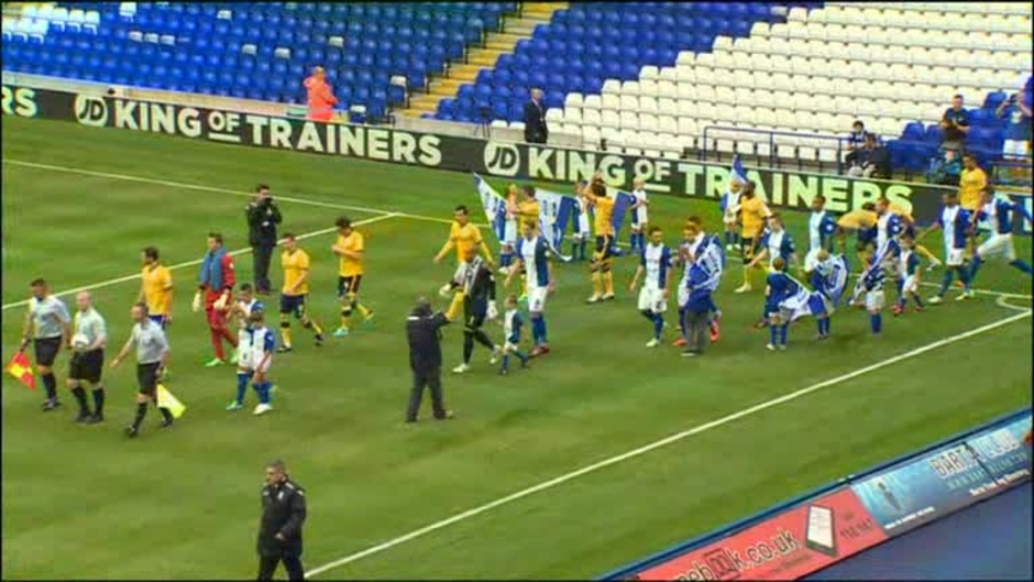 Click here to watch the Birmingham 0 Brighton 1 video