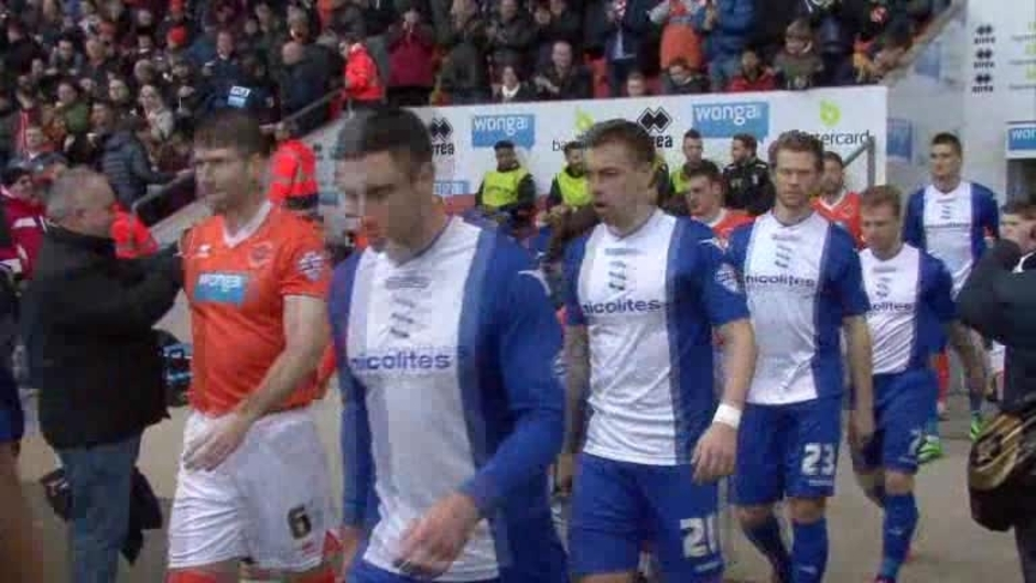 Click here to watch the The Match - Blackpool v Blues video