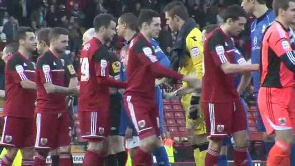 Click here to watch the The Match: Bristol City v Blues video