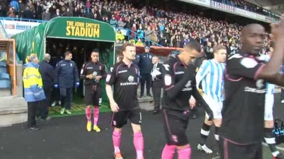 Click here to watch the The Match - Huddersfield v Blues video