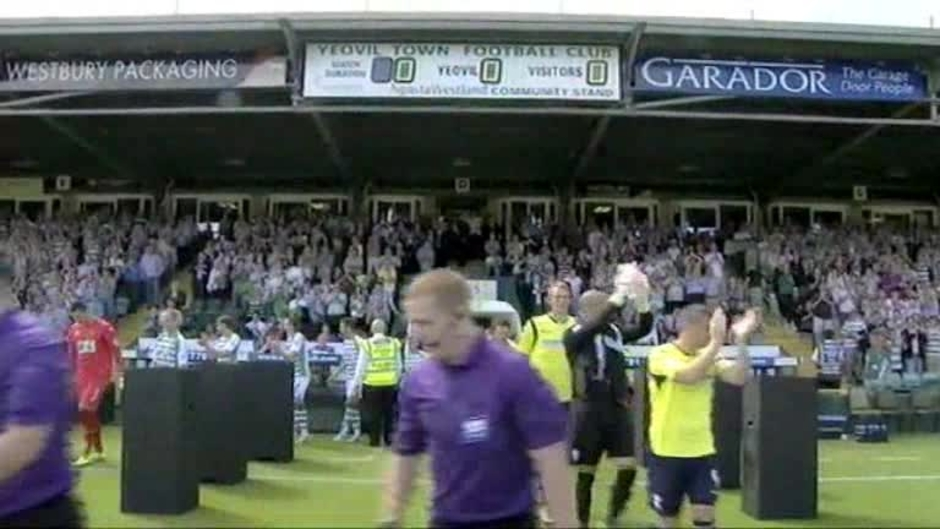 Click here to watch the The Match: Yeovil v Blues video