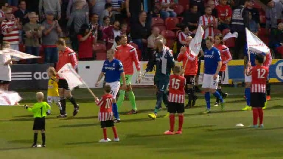 Click here to watch the Brentford 1 Birmingham 1 video