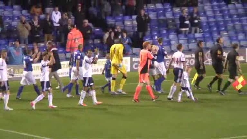 Click here to watch the The Match: Blues v Bolton video