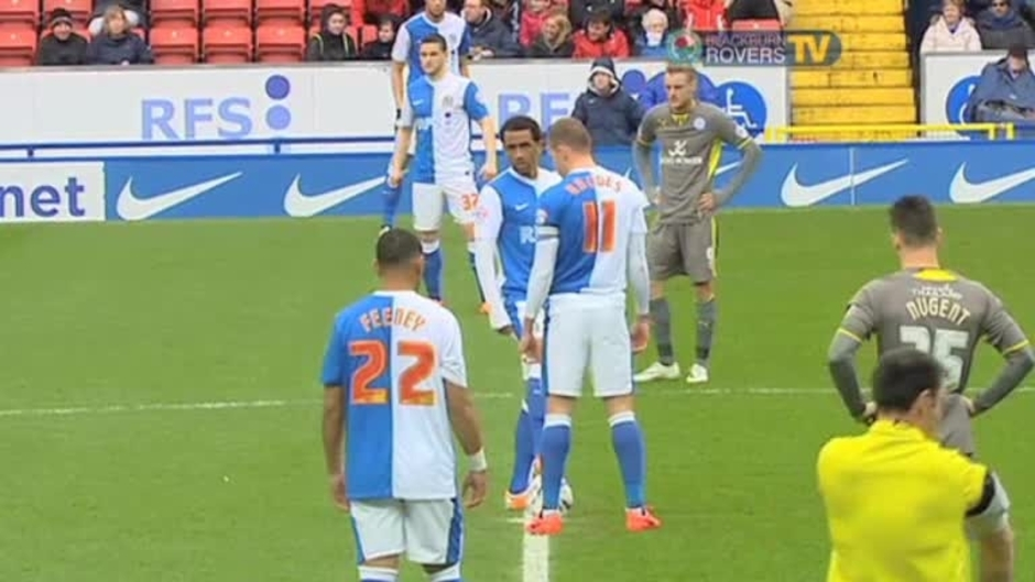 Click here to watch the Rovers v Leicester City 1st Half video