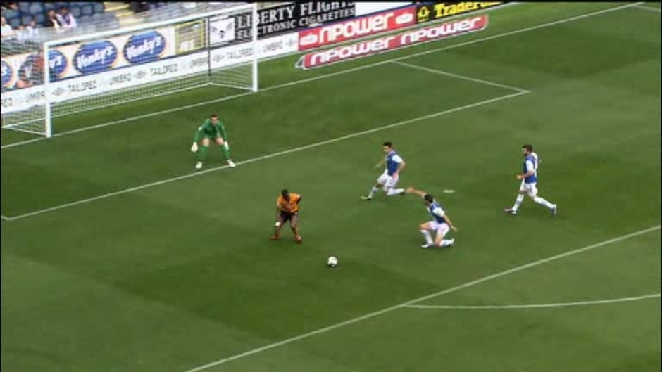Click here to watch the Blackburn 0 Wolves 1 video