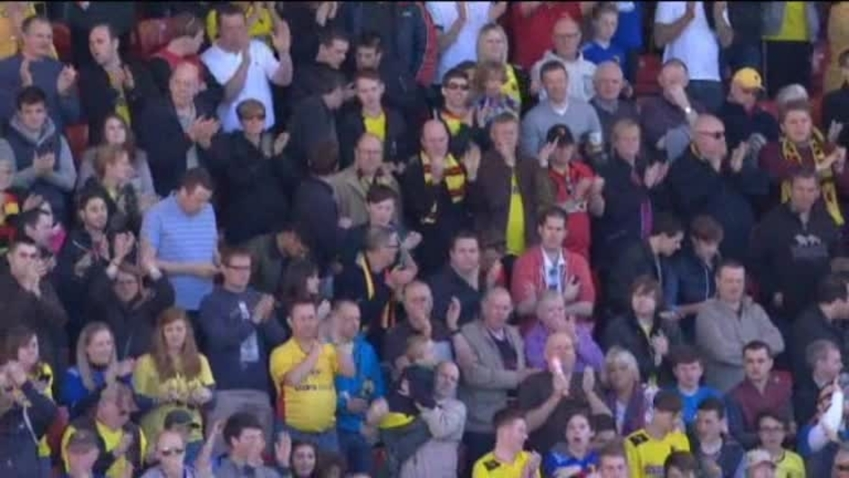 Click here to watch the Watford 4 Blackburn 0 video