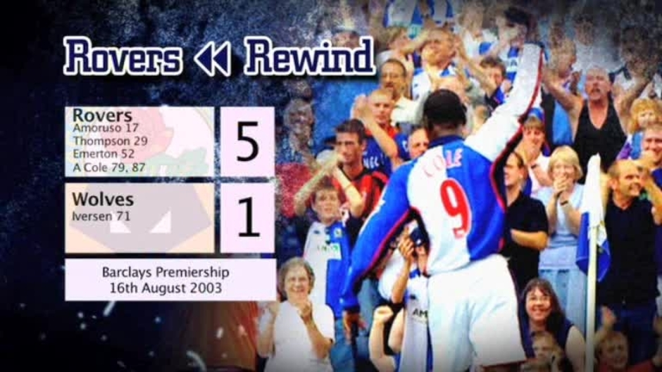 Click here to watch the Rovers Rewind: Wolves at Ewood video