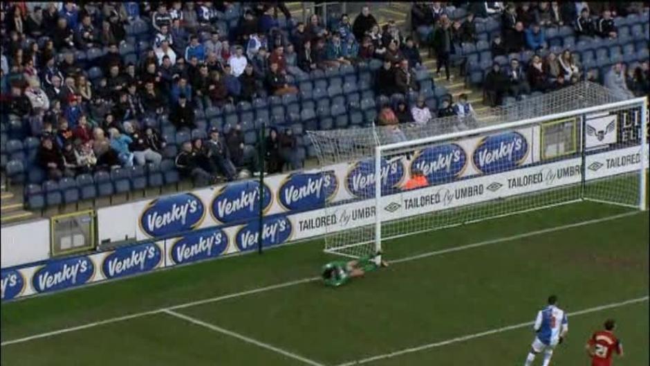 Click here to watch the Blackburn 2 Bristol City 0 video