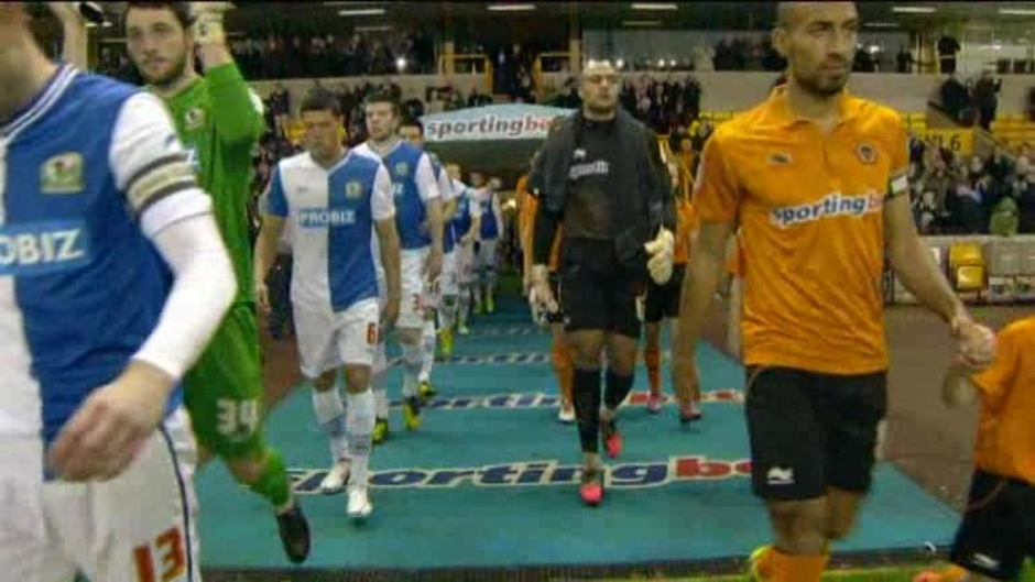 Click here to watch the Wolves 1 Blackburn 1 video