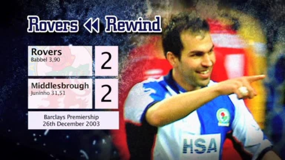 Click here to watch the Rovers Rewind: Middlesbrough at Ewood video