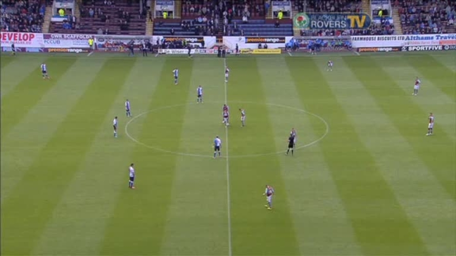 Click here to watch the 2nd half Burnley v Rovers video