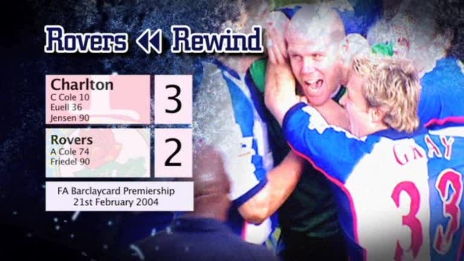 Click here to watch the Rovers Rewind: Charlton at The Valley video