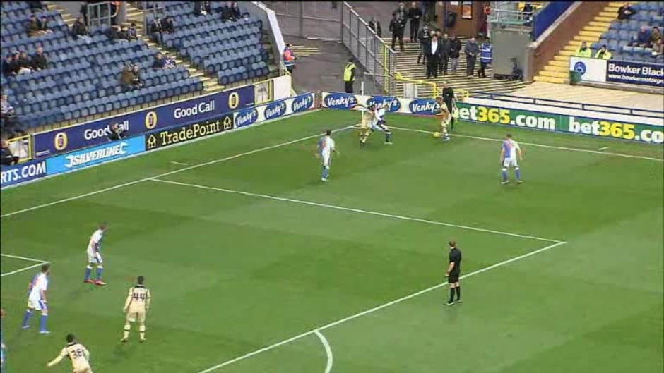 Click here to watch the Blackburn 1 Leeds 0 video