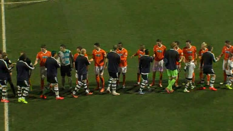 Click here to watch the Bolton 1 Blackpool 0 video