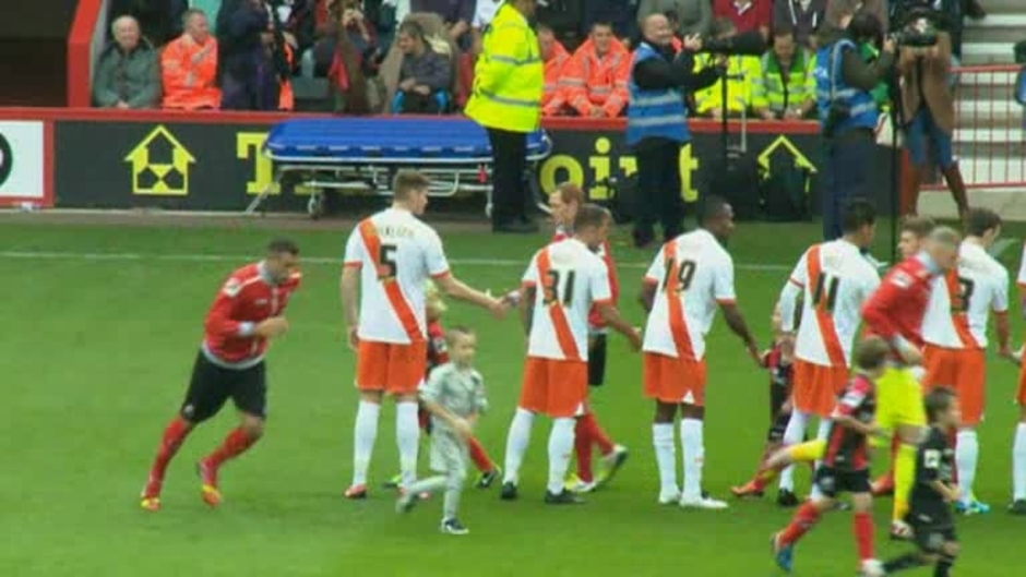 Click here to watch the Bournemouth 1 Blackpool 2 video