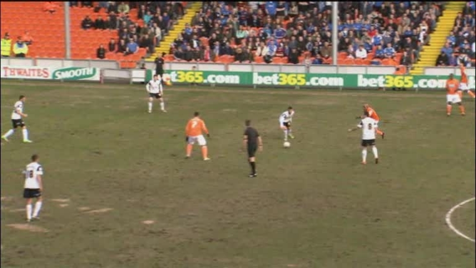 Click here to watch the Blackpool 0 Peterborough 1 video