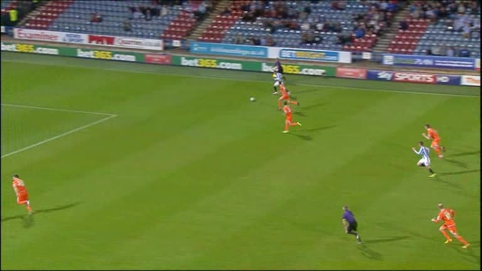 Click here to watch the Huddersfield 1 Blackpool 1 video