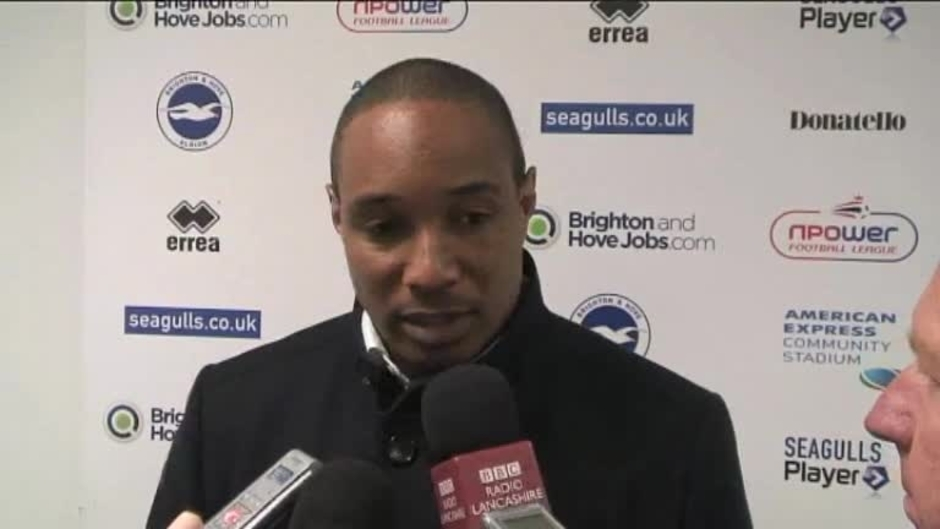 Click here to watch the Video: Ince On Brighton Defeat video