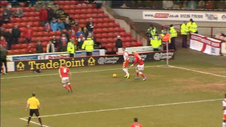 Click here to watch the Barnsley 2 Blackpool 0 video
