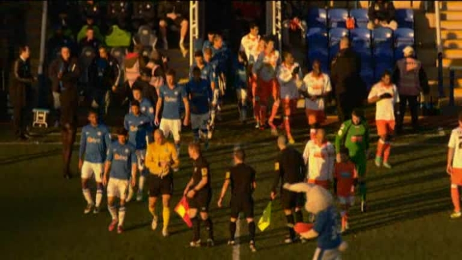 Click here to watch the Peterborough 1 Blackpool 4 video