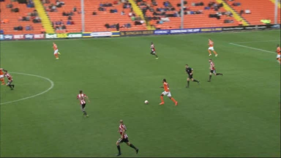 Click here to watch the Blackpool 1 Brentford 2 video