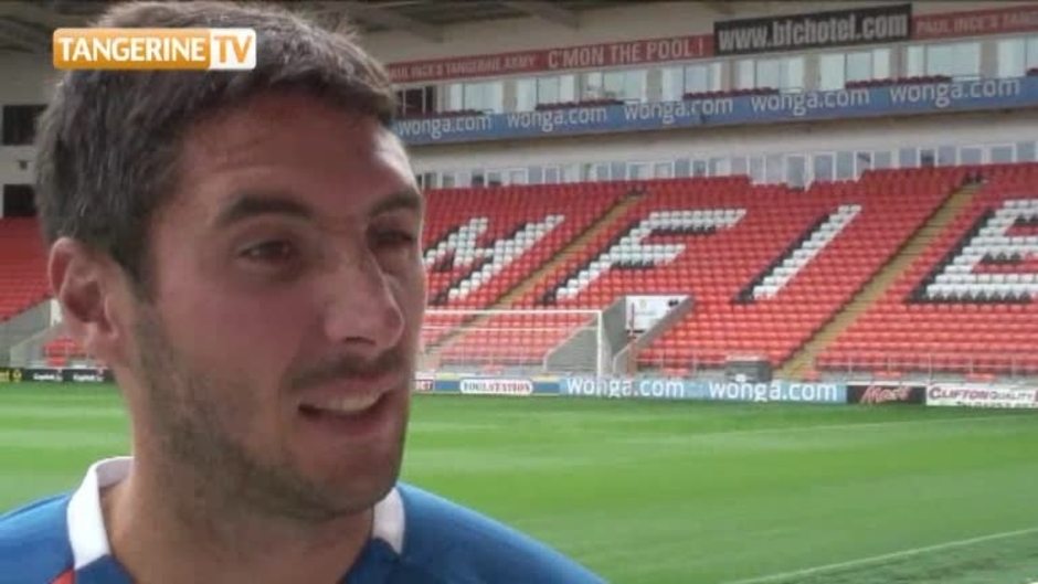 Click here to watch the Player: Orr Discusses Blackpool Move video