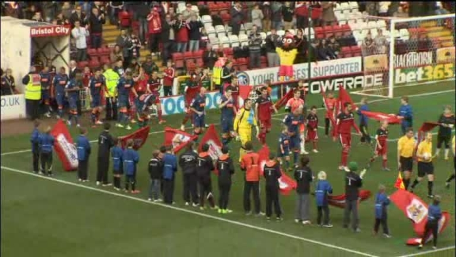 Click here to watch the Bristol City 1 Blackpool 1 video