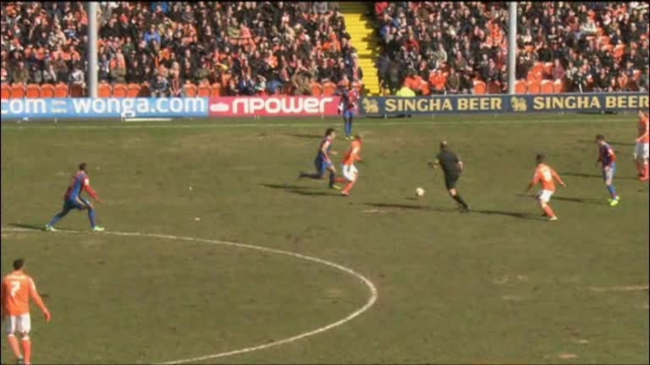 Click here to watch the Blackpool 1 Crystal Palace 0 video