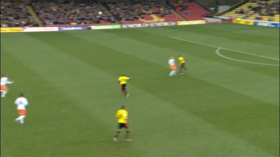 Click here to watch the Watford 1 Blackpool 2 video
