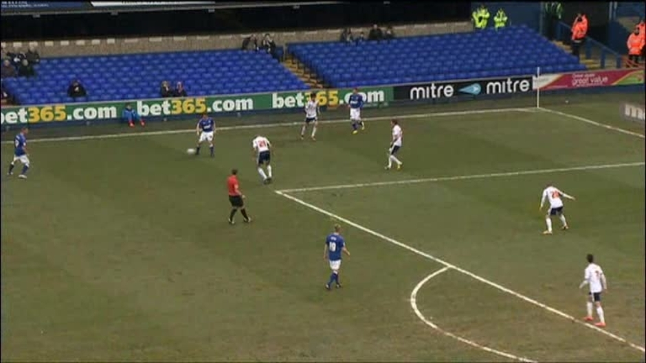 Click here to watch the Ipswich 1 Bolton 0 video
