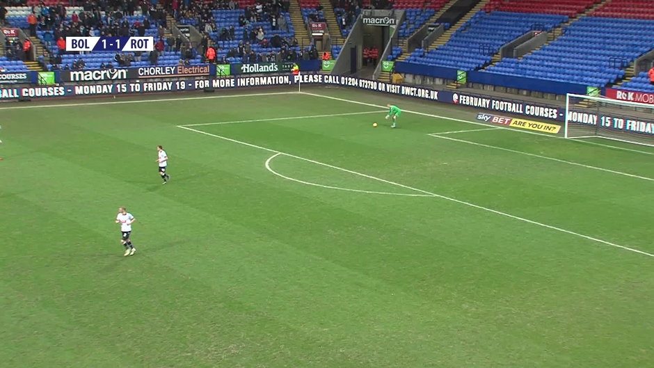 Click here to watch the SECOND HALF | Bolton 2-1 Rotherham video