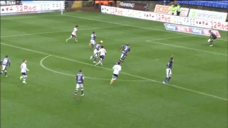 Click here to watch the Bolton 3 Millwall 1 video