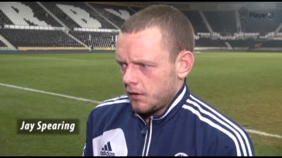 Click here to watch the [VIDEO] Spearing's Derby Reaction video