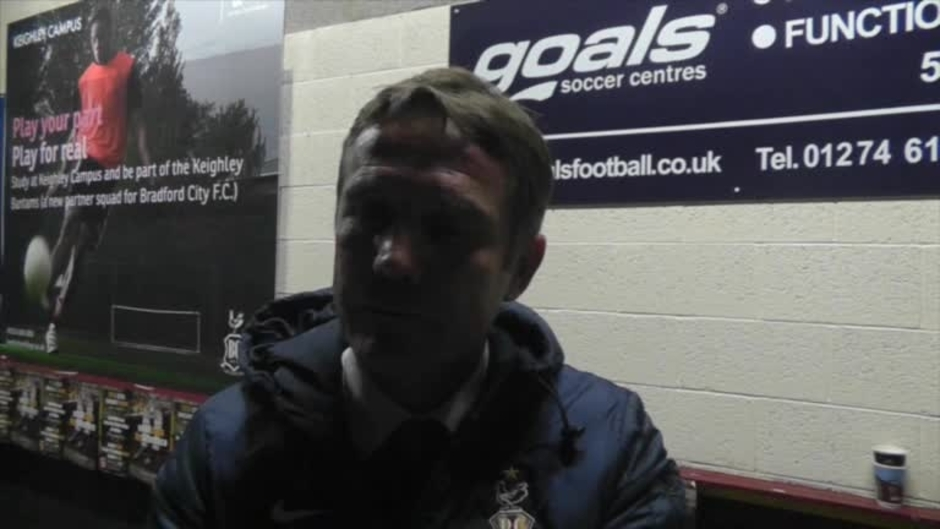 Click here to watch the Parkinson after Rovers win video