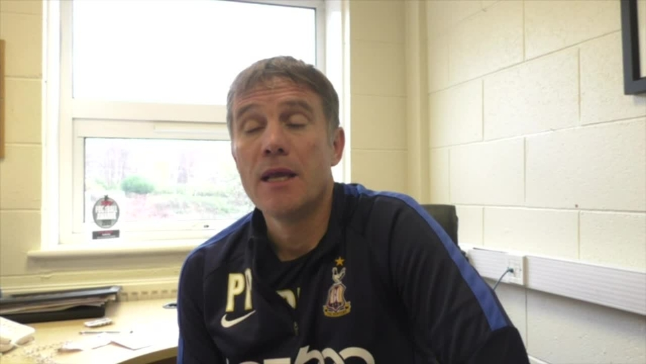 Click here to watch the PARKINSON AHEAD OF WALSALL AWAY FIXTURE video